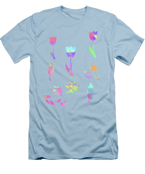 Abstract 433 Men's T-Shirt (Athletic Fit)