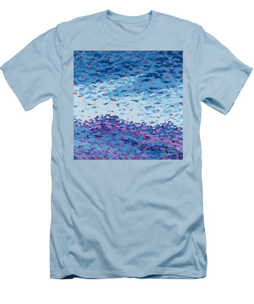 Abstract Landscape Painting 2 Men's T-Shirt (Athletic Fit)