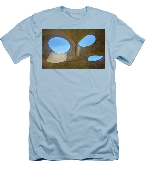 Abstract Of The Roof Men's T-Shirt (Slim Fit) by Gary Slawsky