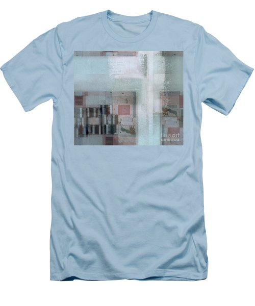 Men's T-Shirt (Slim Fit) featuring the digital art Abstractitude - C7 by Variance Collections