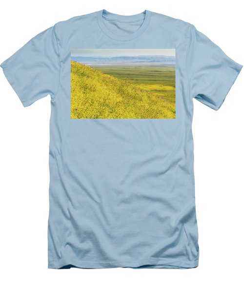 Men's T-Shirt (Slim Fit) featuring the photograph Across The Plain by Marc Crumpler