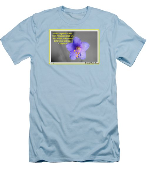Men's T-Shirt (Slim Fit) featuring the digital art Act Now And Forever by Holley Jacobs