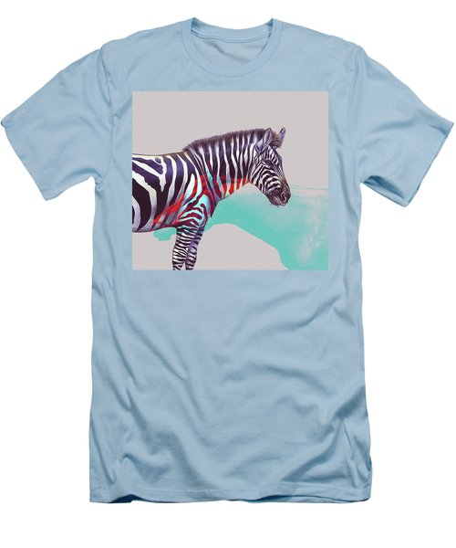 Adapt To The Unknown Men's T-Shirt (Slim Fit) by Uma Gokhale