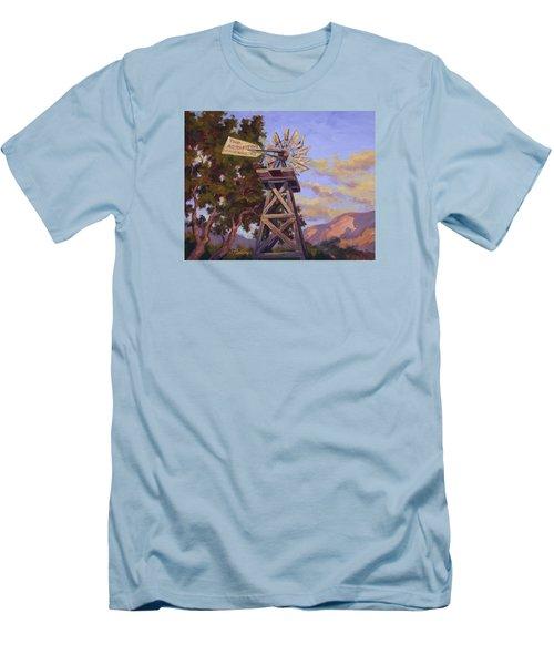 Aeromotor Men's T-Shirt (Slim Fit) by Jane Thorpe