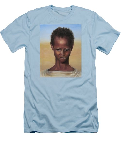 Africa Men's T-Shirt (Slim Fit) by Annemeet Hasidi- van der Leij