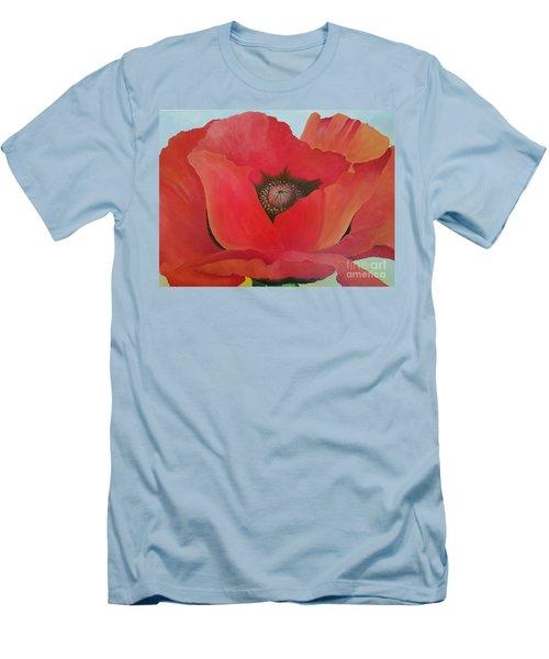 After Georgia Men's T-Shirt (Slim Fit) by Susan Williams