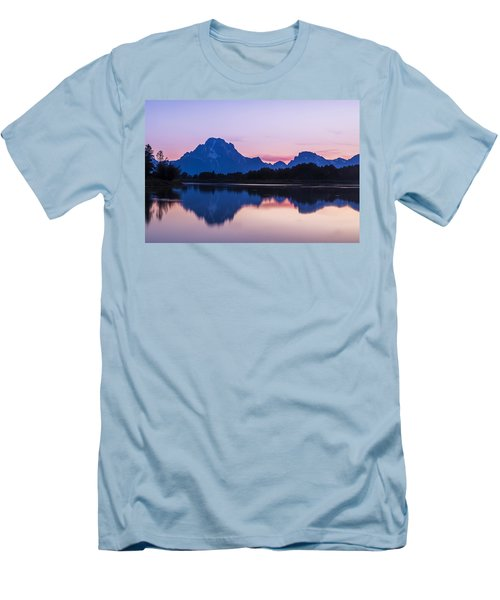 Men's T-Shirt (Slim Fit) featuring the photograph After Glow by Andrew Soundarajan