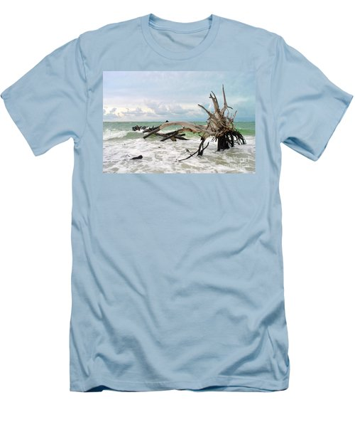 Men's T-Shirt (Slim Fit) featuring the photograph After The Storm by Margie Amberge