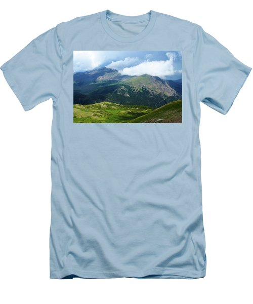Men's T-Shirt (Slim Fit) featuring the photograph After The Storm by Marie Leslie