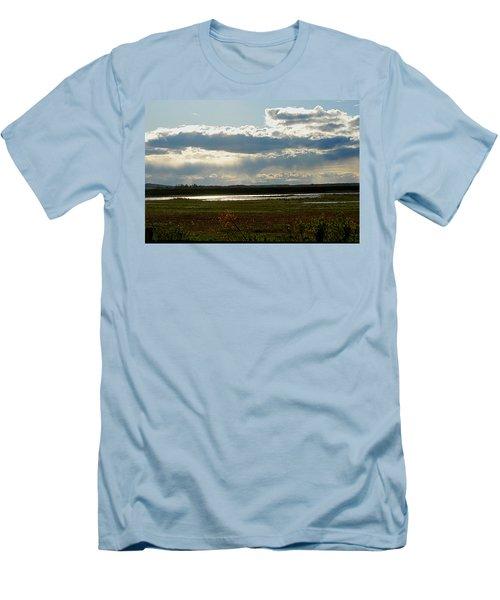 After The Storm Men's T-Shirt (Slim Fit) by Nancy Landry