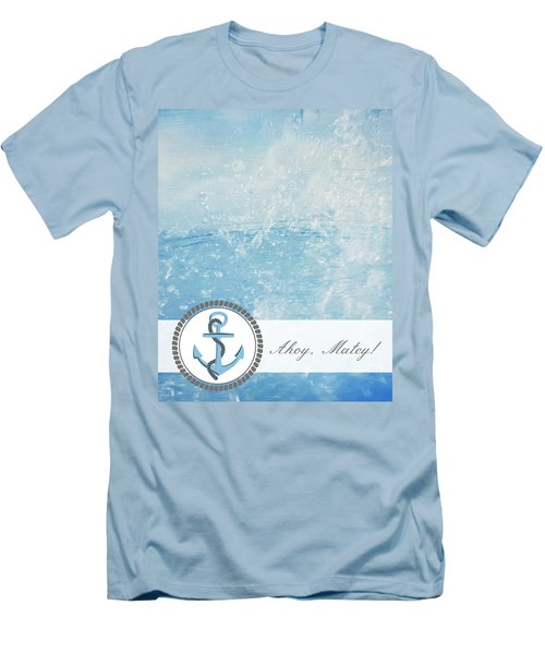 Ahoy Matey Men's T-Shirt (Athletic Fit)