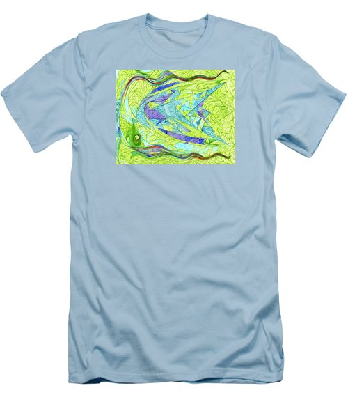 Aigikampos Men's T-Shirt (Slim Fit) by Robert Nickologianis