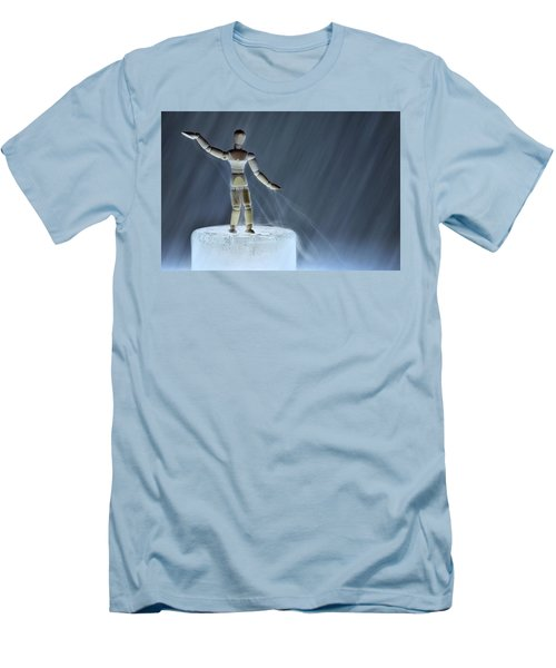 Men's T-Shirt (Slim Fit) featuring the photograph Airbender by Mark Fuller