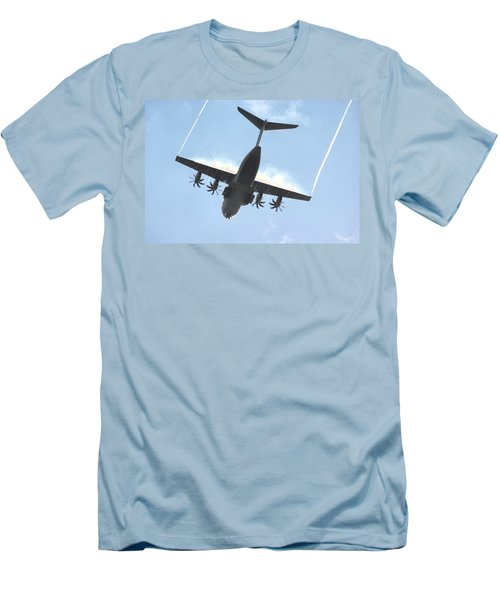 Airbus A400m Men's T-Shirt (Slim Fit) by Tim Beach