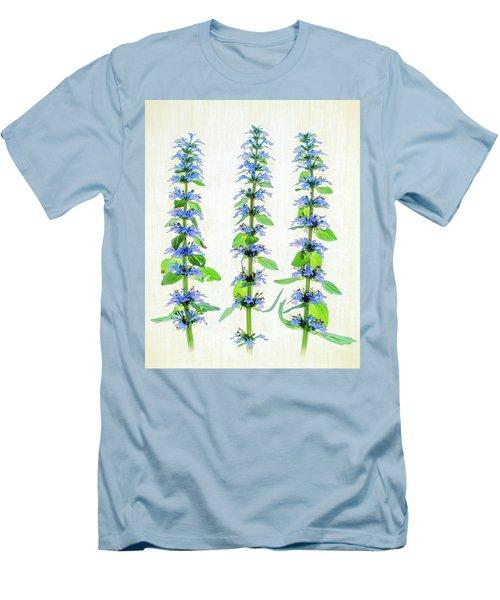 Ajuga Blooms Men's T-Shirt (Slim Fit) by Robert FERD Frank