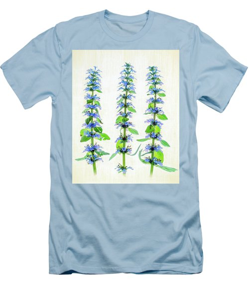 Ajuga Blooms Men's T-Shirt (Athletic Fit)