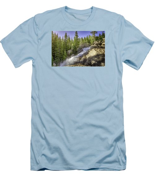 Alberta Falls Men's T-Shirt (Athletic Fit)