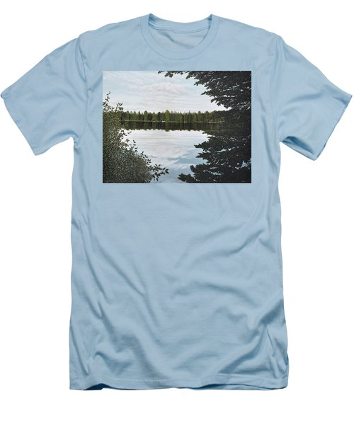 Algonquin Park Men's T-Shirt (Slim Fit) by Kenneth M  Kirsch