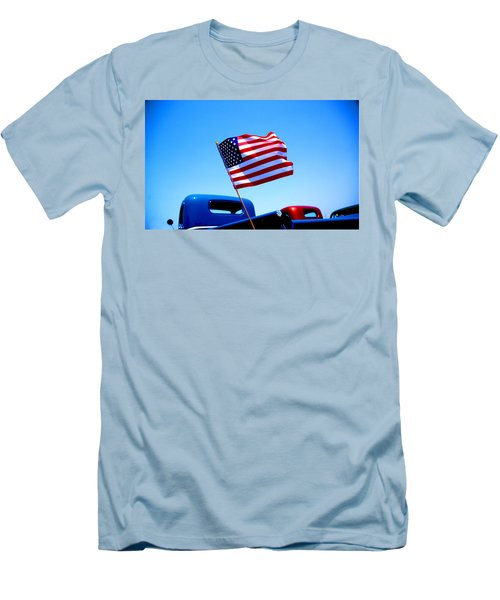 All American Men's T-Shirt (Slim Fit) by Ralph Vazquez