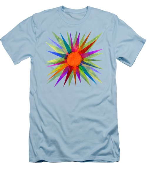 All The Colors In The Sun Men's T-Shirt (Athletic Fit)