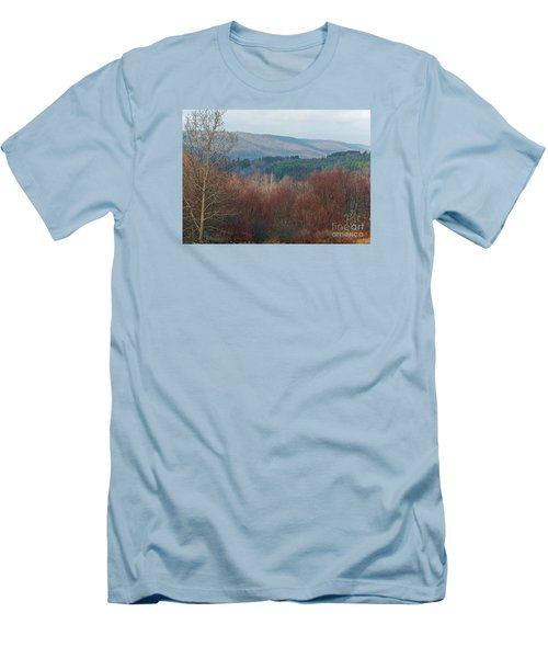 Men's T-Shirt (Slim Fit) featuring the photograph Allegany Rhapsody by Christian Mattison
