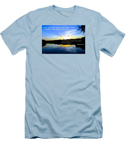 Men's T-Shirt (Slim Fit) featuring the photograph Allies by David Norman