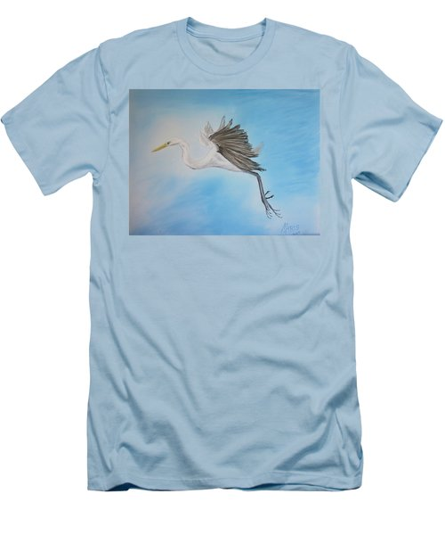 Alone Men's T-Shirt (Slim Fit) by Maris Sherwood
