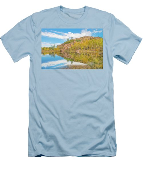 Alpine Vale Reflection  Men's T-Shirt (Athletic Fit)