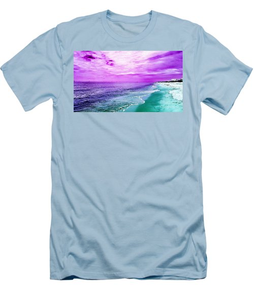 Alternate Beach Escape Men's T-Shirt (Athletic Fit)