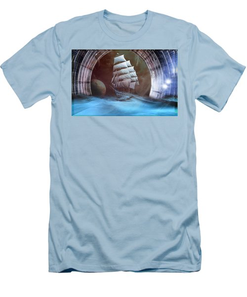 Alternate Perspectives Men's T-Shirt (Slim Fit) by Mario Carini