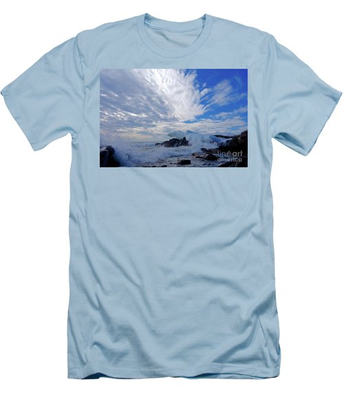 Amazing Superior Day Men's T-Shirt (Slim Fit) by Sandra Updyke