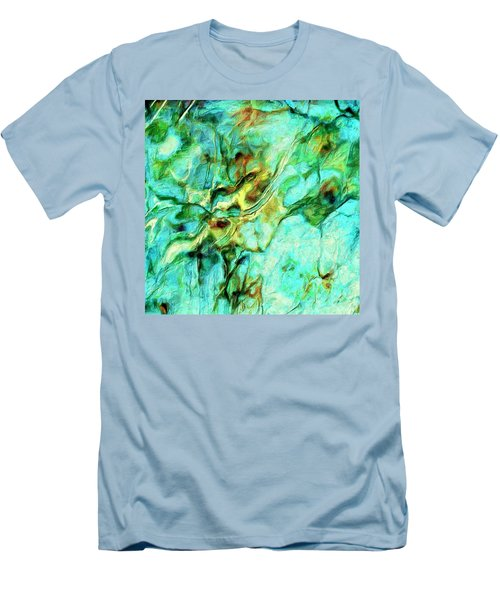 Men's T-Shirt (Slim Fit) featuring the painting Amazon by Dominic Piperata