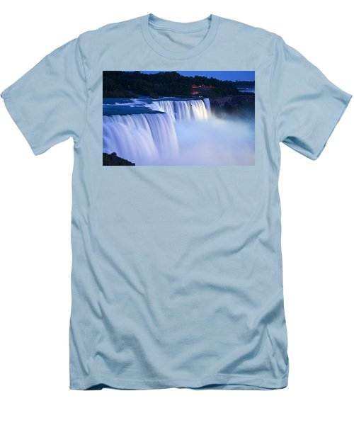 American Falls Niagara Falls Men's T-Shirt (Athletic Fit)