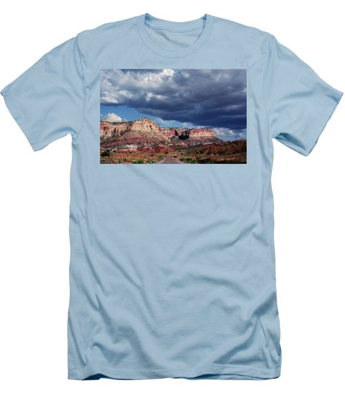 Men's T-Shirt (Athletic Fit) featuring the photograph American Southwest by Marilyn Hunt