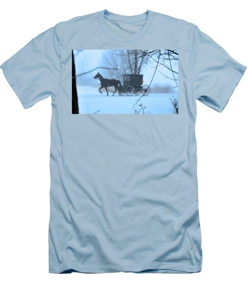 Amish Dreamscape Men's T-Shirt (Athletic Fit)