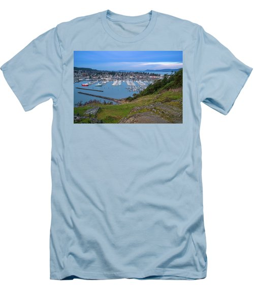 Anacortes Peaceful Morning Men's T-Shirt (Athletic Fit)