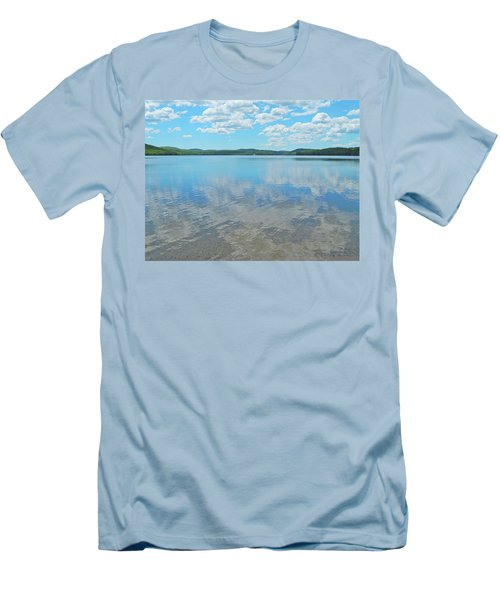 Anasagunticook Lake, Canton, Me, Usa 10 Men's T-Shirt (Slim Fit) by George Ramos