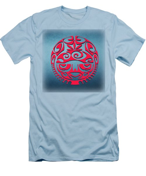 Ancient Tribal Red Mask Men's T-Shirt (Athletic Fit)