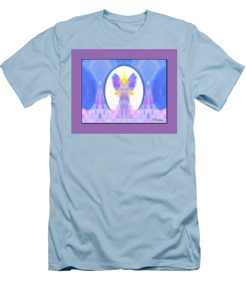 Men's T-Shirt (Athletic Fit) featuring the digital art Angel #200 by Barbara Tristan