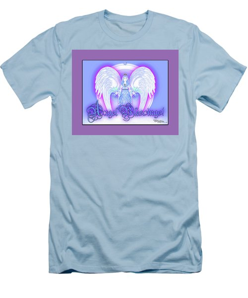 Angel Blessings #196 Men's T-Shirt (Athletic Fit)