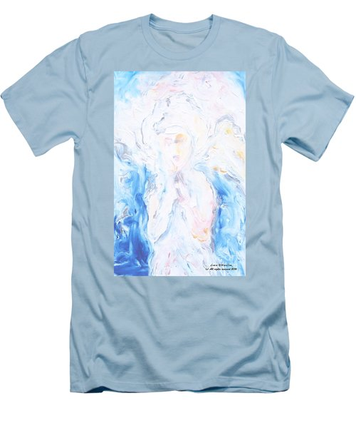Angel Of Peace Men's T-Shirt (Athletic Fit)