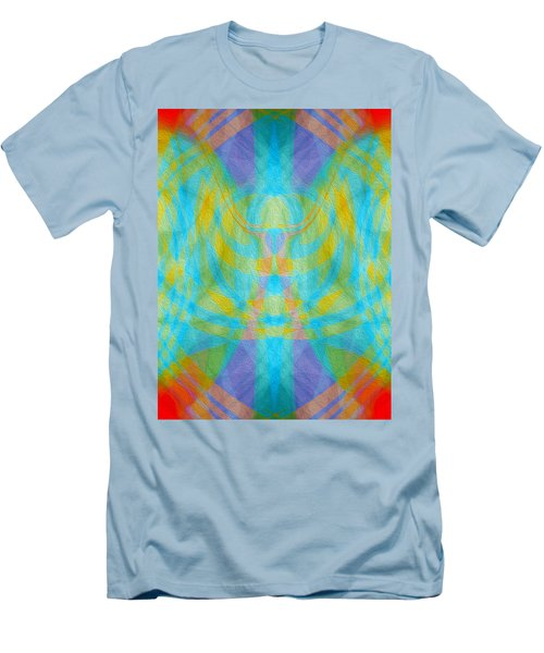 Angelic Presence Men's T-Shirt (Athletic Fit)