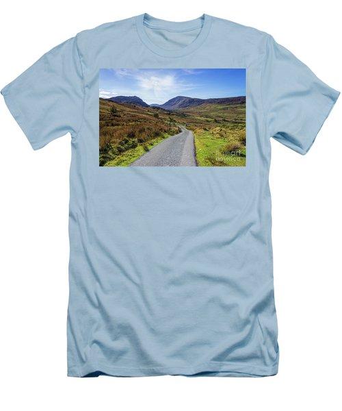 Angels Path Men's T-Shirt (Slim Fit) by Ian Mitchell