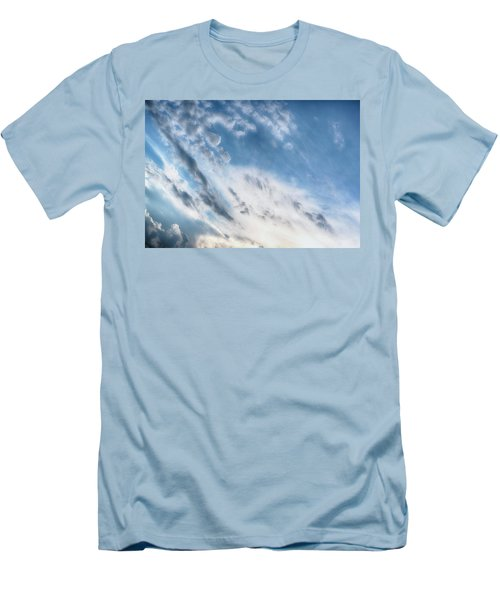 Men's T-Shirt (Slim Fit) featuring the photograph Angry Clouds by Susan Stone