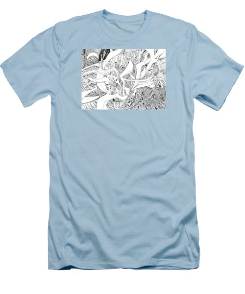 Another Kind Of Peace Men's T-Shirt (Slim Fit) by Charles Cater