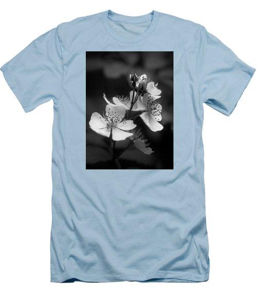 Apple Blossom 2 Men's T-Shirt (Slim Fit) by Simone Ochrym