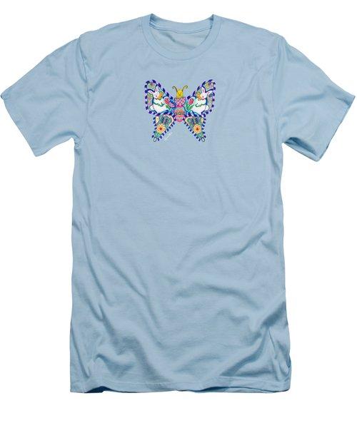 April Butterfly Men's T-Shirt (Athletic Fit)
