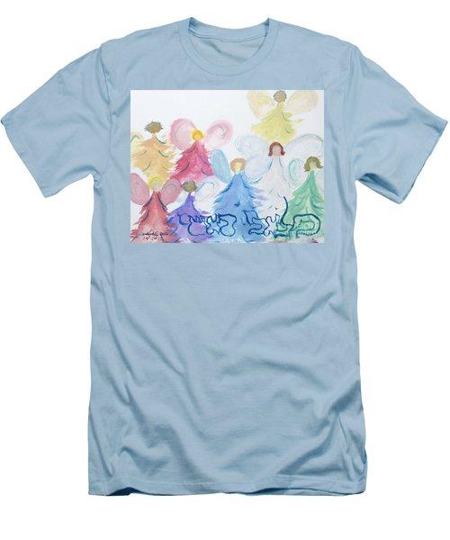 Archangels    Malchei Roshei Men's T-Shirt (Athletic Fit)