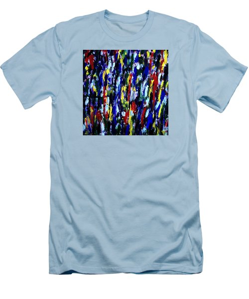 Art Abstract Painting Modern Color Men's T-Shirt (Athletic Fit)