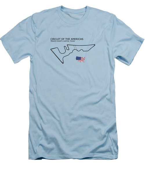 Circuit Of The Americas Men's T-Shirt (Athletic Fit)